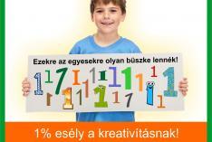 1 % esély a kreativitásnak 2016-ban is!