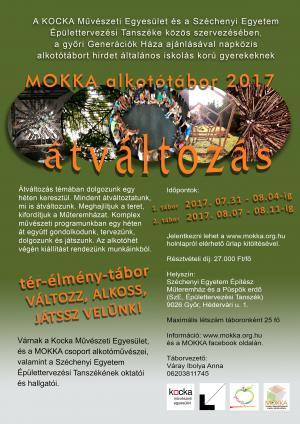 ÁTVÁLTOZÁS - MOKKA tábor 2017 / 2 turnus